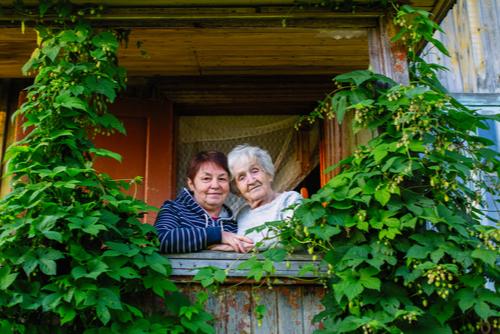 dementia village elderly senior care