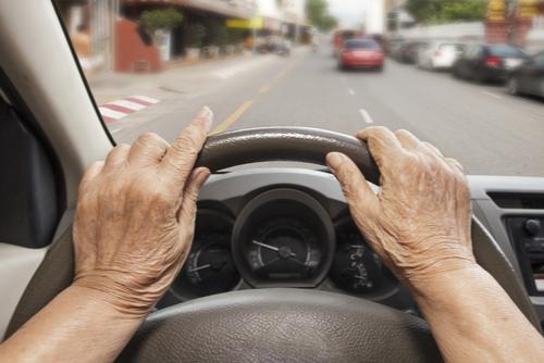 senior citizen driving car safety concern